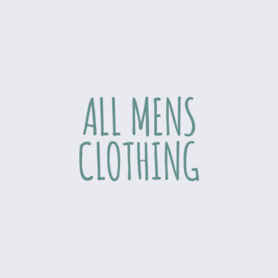 All Mens Clothing