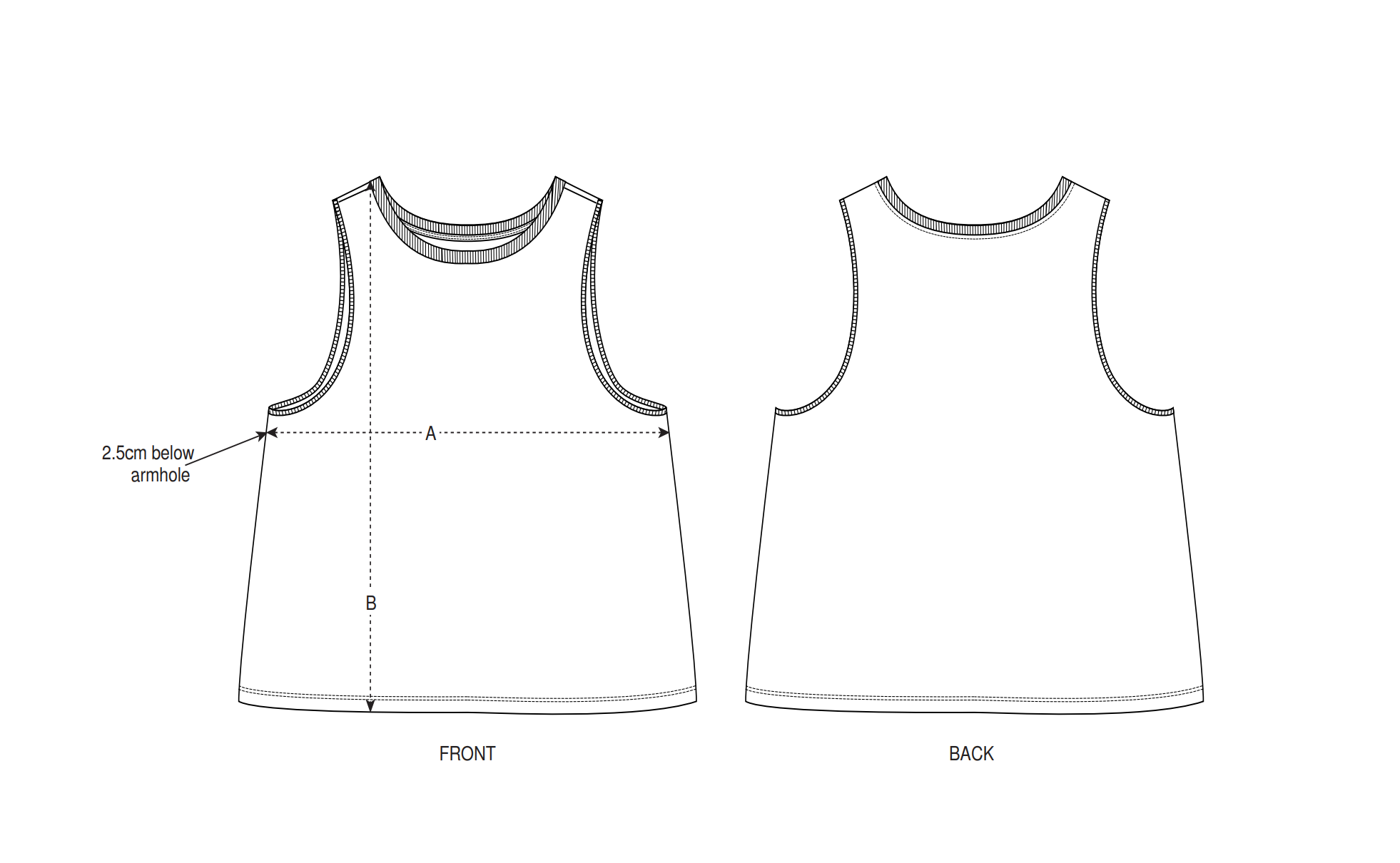 S/S Dancer Cropped Tank Top